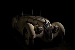 1937 BMW 328 (vangeh) Tags: carporn car a7r3 vintage shadow bmw chiaroscuro lowkey strobist automobile