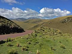 Reserva Ecológica Antisana.  Ecuador. (cbrozek21) Tags: reservaecológicaantisana ecuador road nature lanscape mountains clouds sky