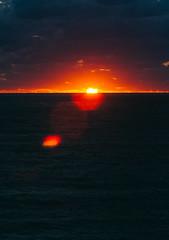P1091289 (mr. Wood) Tags: ep5 computar olympus cyprus paphos larnaca mediterranian waves sunset sea water sky