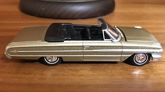 1964 Ford Galaxie 500XL 1/64 Auto World (Eunus El Ya) Tags: american muscle car cars toy diecast model 164 auto world round 2 lowrider droptop drop top convertible personal luxury coupe fomoco ford mercury lincoln 1964 60s galaxie 500xl 1960s