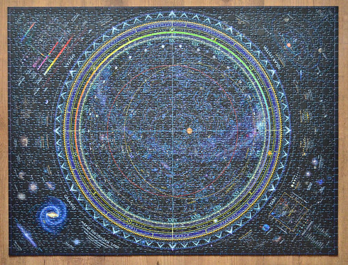 Ravensburger Map Of The Universe 1500 Pieces A Photo