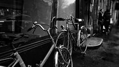 Retro Cycles. Dec 2018 (SimonHX100v) Tags: cycle bicycle retro vintage street streetphoto depthoffield dof blackandwhite blackwhite monochrome monotone greyscale grayscale bw bnw perspective pointofview lowpov pov simonhx100v sonyhx100v hx100v sony
