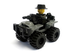ATV Quad Bike (BrickMonkey MOCs) Tags: lego atv military quadbike brickarms