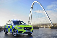 KX68 NFU (S11 AUN) Tags: cleveland police volvo xc90 4x4 d5 powerpulse estate demo demonstrator anpr armed response vehicle arv traffic car roads policing unit rpu 999 emergency kx68nfu