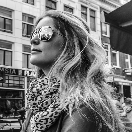 BWPhoto, Hair, Portrait, Street, Street-Portfolio, Style, Sunglasses, Up Close and Personal