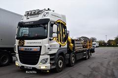 DSC_0004 (richellis1978) Tags: truck lorry cannock haulage transport logistics daf cf 8 wheel plant roger bullivant fd66vkm