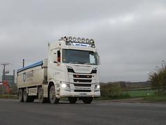 Scania R500 - M and P Mason (Unimog1300L) Tags: y17mpm scania mpmason