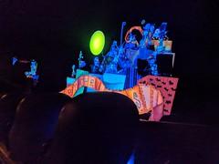 Doombuggies and load zone, Haunted Mansion,  Disneyland, Anaheim, California, USA (gruntzooki) Tags: disneyland anaheim orangecounty losangeles la ca dl disney california usa hauntedmansion hauntedmansionholiday