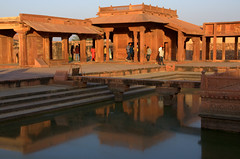 Fatehpur Sikri (Weltbürgerin) Tags: india indien uttar pradesh architecture palace