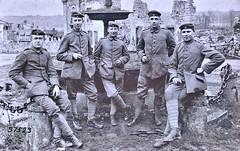 German Infantry in Malancourt, Meuse. german negative ca1914 NARA111-SC-37523-ac (over 14 MILLION views Thanks) Tags: germanarmy ww1 worldwari france 19141918