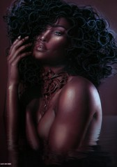 Akemi Syuri Snow (A. Doutzen) Tags: photoshop photograpy photo portrait art angel avatar second secondlife sexy dark fashion