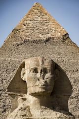 Esfinxe e Kefrén (Sergio Casal) Tags: aprobado exipto egipto egypt travel trip wanderlust africa luxor portrait giza cairo