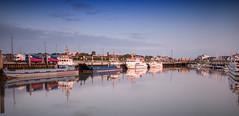 Hafen Bensersiel (muman71) Tags: dscf0996 bensersiel hafen 2018 nordsee langzeitbelichtung blauestunde ostfriesland fuji f8 10sec 18mm iso200