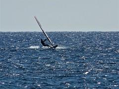 Freedom. (Ia Löfquist) Tags: crete kreta surfing surfa windsurfing vinsurfing board bräda windsurf sea hav freedom frihet