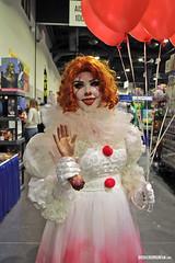 Rhode Island Comic Con (Alex DiVincenzo) Tags: cosplay costumecontest rhodeislandcomiccon pennywise it stephenking billskarsgard