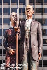 God Bless America Statue (Thomas Henneman) Tags: art illinois public sculpture sewardjohnson chicago godblessamerica godblessamericastatue statue temporary usa
