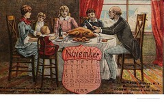 1885 Munson collar co.  thanksgiving trade card (albany group archive) Tags: 1880s old albany ny vintage photos picture photo photograph history historic historical