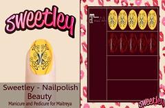 Sweetley - Nailpolish Set Beauty add (Sweetley SL) Tags: sweetley sl nailspolish applier bento mesh avatar maitreya mainstore marketplace newrelease original copyright beauty style trend fashionable