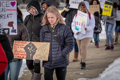 Students March on MLK Day (Phil Roeder) Tags: desmoines iowa desmoinespublicschools movement515 mlk martinlutherking civilrights protest march canon6d canonef70200mmf4lusm