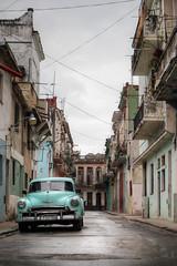 Old Havana (FX-1988) Tags: old havana cuba car american 50s street urban architecture rod cloud sky cloudy travaling chevrolet bel air 53