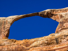 Castle Arch (xjblue) Tags: needlesweekend backcountrytravel vehiclebased 2018 4x4 canyonlandsnationalpark camping canyon canyonlands desert exploring hiking overland naturalarch natural span scenic landscape southernutah utah olympus omdem1 50200mmswd