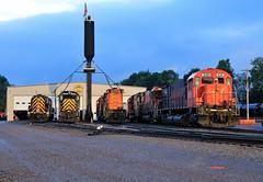 Two Five One (BravoDelta1999) Tags: westernnewyorkandpennsylvania wnyp railroad erie railway conrail cr buffaloline driftwood turn manifest train alco 251 mlw m630 c630m 638 630 637 olean shops newyork state 643 m636 c430 430 rs3m 406 rs18u 417
