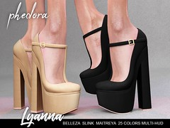 """Phedora. for The LEVEL event - """"Lyanna"""" maryjanes ♥ (Celena Galli ~ phedora.) Tags: sl secondlife second life phedora 3d mesh shoes brand heels platforms shoewear womenswear pumps woman women sexy sassy stylish classy cute chic kinky kawaii fashion event monthly events original content 100mesh new release newrelease meshbody hud multihud maitreya lara belleza isis freya venus slink hourglass physique shopping shopaholic shappaholic straps ankle booties sportswear streetwear cuffs ankleboots urban funky heel strappy style strappyheels avatar female femaleavatar femaleavi footwear maryjanes level levelevent"""