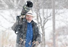 ''Hommage!'' Simon Théberge (pascaleforest) Tags: passion nikon nature ami friend québec canada photo portrait neige snow hommage wild wildlife faune simonthéberge