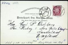 Postkort fra Agder (Avtrykket) Tags: frimerke porto postkort poststempel arendal austagder norway