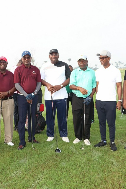 HSDickson - His Excellency Another day at the Bayelsa Golf Course..5th Dec 2018.
