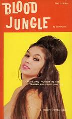 Triumph Books 315 - Cort Martin - Blood Jungle (swallace99) Tags: triumphfiction vintage 60s sleaze paperback