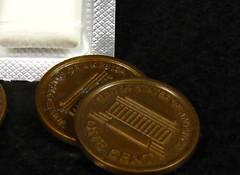 buying gum with a penny slug (muffett68 ☺ heidi ☺) Tags: pretend pennies slugs ansh possibility alternate scavenger2