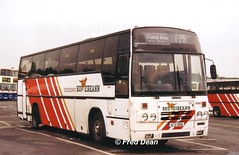 Bus Eireann PD60 (92D10060). (Fred Dean Jnr) Tags: july2003 dublin broadstone broadstonedepotdublin buseireannbroadstonedepot buseireann pd60 92d10060 daf mb230 plaxton paramount