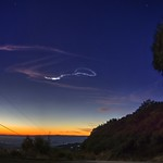 Meteor trail over the Silicon Valley thumbnail