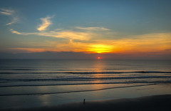 Daytona Sunrise (RansomedNBlood) Tags: fl florida daytona beach ocean clouds