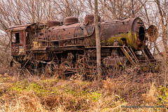 Old Number 5 (Thomas DeHoff) Tags: steam train rusty illinois sony a77mk 2 tamron 1750