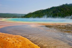 Grand Prismatic Spring (Trappse) Tags: grand prismatic spring yellowstone national park rainbow colours usa america nature geysir basin