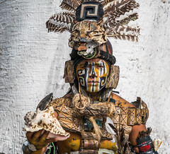 Man in Mayan Dress - Pisté, Yucatán, México (ChrisGoldNY) Tags: challengefactory clothes outfit paint facepaint firstnation nativeamerican native mayan ancient costume men portraits people sonya7rii sonyimages sonyalpha forsale licensing chrisgoldberg chrisgoldny chrisgoldphoto challengewinners friendlychallenges bookcover albumcover humans mexicans mayans yucatan piste pisté yucatán postcard greetingcard postcards posters life warmth alive greetingcards