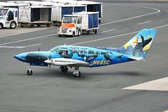 N69SC Boston 16/06/18 (Andy Vass Aviation) Tags: boston capeair cs402 n69sc sixninesuperchicken ifaw