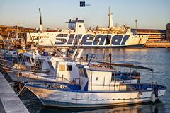 2104 (AV Fotografie) Tags: porto empedocle agrigento snav sicilia italia paesaggio mare barche