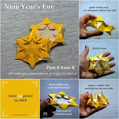 Tutorial New Year's Eve - part 8 (talina_78) Tags: origami star hexagon tutorial
