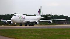 IMG_6052 EC-KXN (biggles7474) Tags: eckxn b744 b7474h6 boeing jumbo jet wamos air egkk lgw london gatwick airport