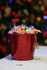 (David Gilson) Tags: closeup bokeh depthoffield dof stilllife christmas lindor chocolate bucket