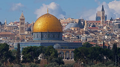 Dome of the Rock (sonic182) Tags: dome rock temple mount old town city jerusalem israel palestine olives panorama