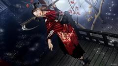 #182 romanticism (lizumelody) Tags: eve {anc} {marukado} japonica gabriel doux insomnia angel lootbox zaara cx