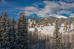 Neighborhood Views (RkyMtnGrl) Tags: landscape nature scenery vista clouds mountains pines snow winter peaks january allenspark colorado 2019