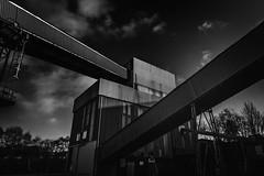 Industrial noir (cliveg004) Tags: powerstation industrial buildings blackandwhite bnw bw monochrome mono nikon d5200
