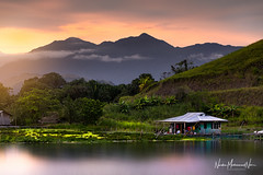 Lovely Sunset in Sentani Lake (Nur Alam MN) Tags: sentanilake lake sunset sunsetglobal sunsethunter sunsetlovers globalsunset jayapura papua sentani landscape