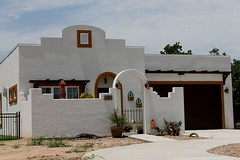 5409 Architectural View (jHc__johart) Tags: house residence building oklahoma soil yard driveway