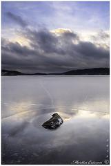 190119 021web (Marteric) Tags: fristad moln skalle is kväll sjö solnedgång öresjö clouds lake ice sky sweden nature icescape rock landscape